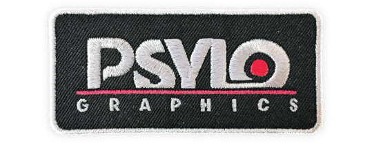 a sample of a psylo graphics oceanside patch