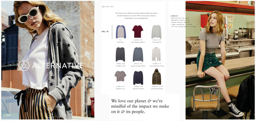 Alternative Apparel American Made Catalog