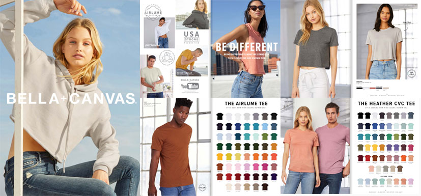 Bella+Canvas Made in USA Catalog